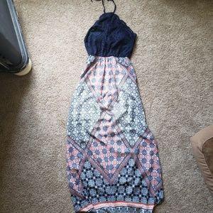 Padded maxi dress medium trixxi